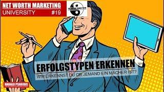 NWM UNIVERSITY #19 - ERFOLGSMENSCHEN ERKENNEN