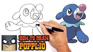 How to Draw Popplio | Pokemon