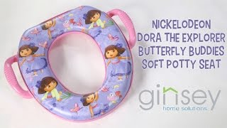 Nickelodeon Dora the Explorer Butterfly Buddies Soft Potty Seat