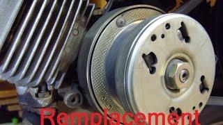 Remplacement embrayage moteur 2 temps (103)