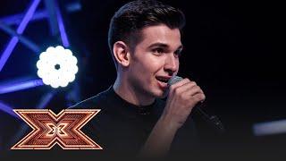"""Bruno Mars - """"When I was your man"""". Vezi cum cântă Cristian Sanda, pe scena """"X Factor""""!"""