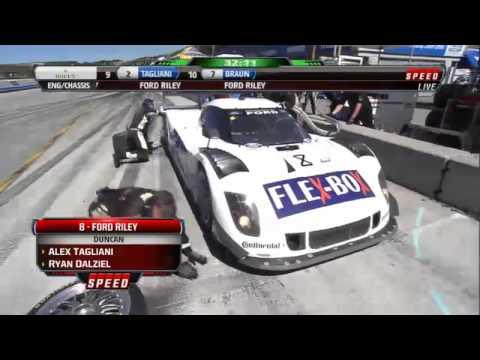 2012 Continental Tire Sports Car Festival Rolex Series Race Highlights