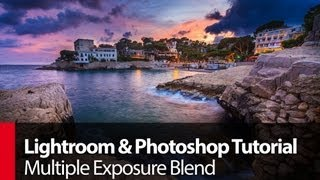 Lightroom & Photoshop Tutorial: Multiple Exposure Blend - PLP # 58 by Serge Ramelli