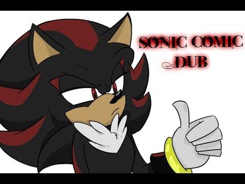 Sonic Comic Dub - The Life Of Team Dark
