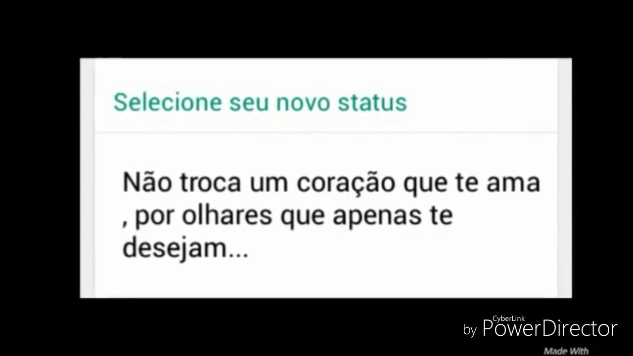 Frases Românticas Para Status Do Whatsapp Youtube