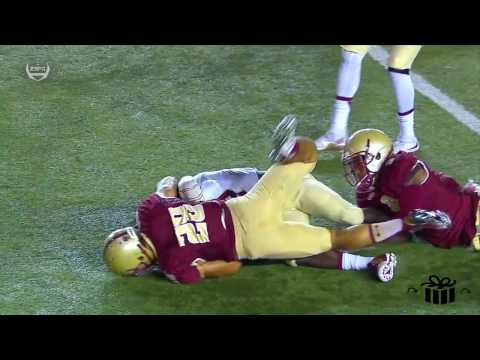 Matt Milano #28 Boston College Highlights [Here Comes the Night]