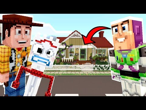 Minecraft Toy Story - Can Woody Escape Bonnie's House?! [2]