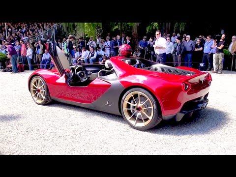 Ferrari Sergio Concept By Pininfarina Design Youtube