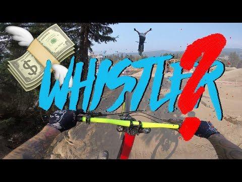 Kosten für Whistler Bikepark Trip - Flug, Unterkunft, Lifttickets, Essen