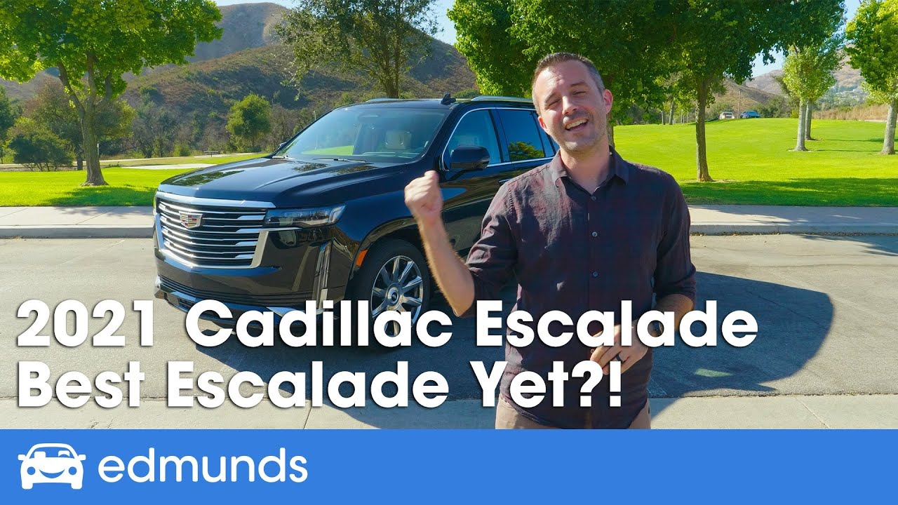 2021 Cadillac Escalade Prices Reviews And Pictures Edmunds