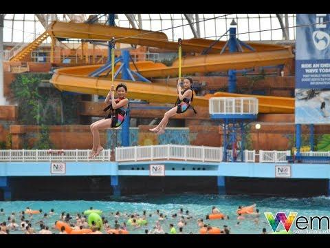 2018 West Edmonton Mall Water Park (Dana, Aiden & School Friends)