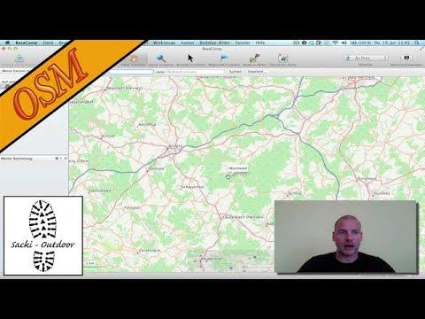 OpenStreetMap 3 - Garmin BaseCamp + gmap(i) Dateien