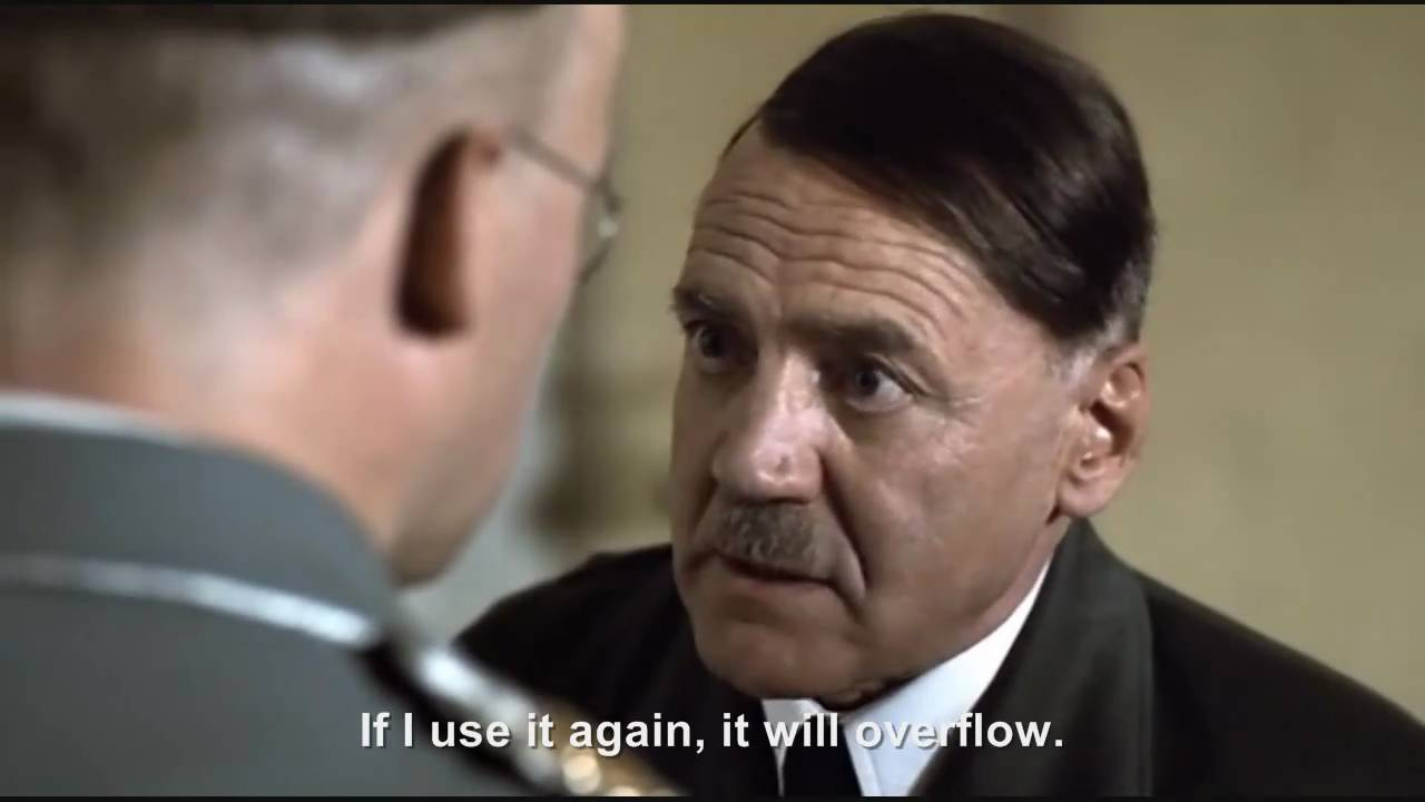 Hitler wants Himmler to unclog his toilet