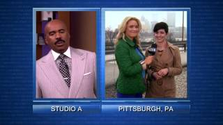 Pittsburghers appear on the Steve Harvey Show: Dating Advice