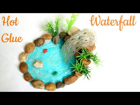 DIY Hot Glue Waterfall Tutorials/Hot Glue Craft Ideas