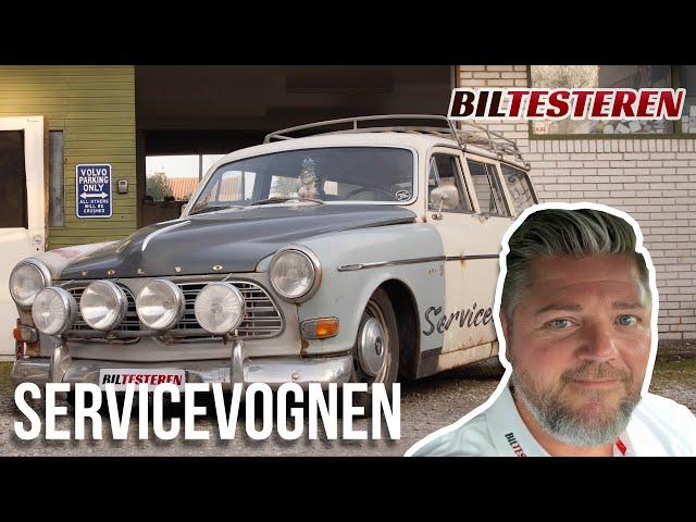 I Volvo Amazon fra 1967 til Polarcirklen (hyggevideo)