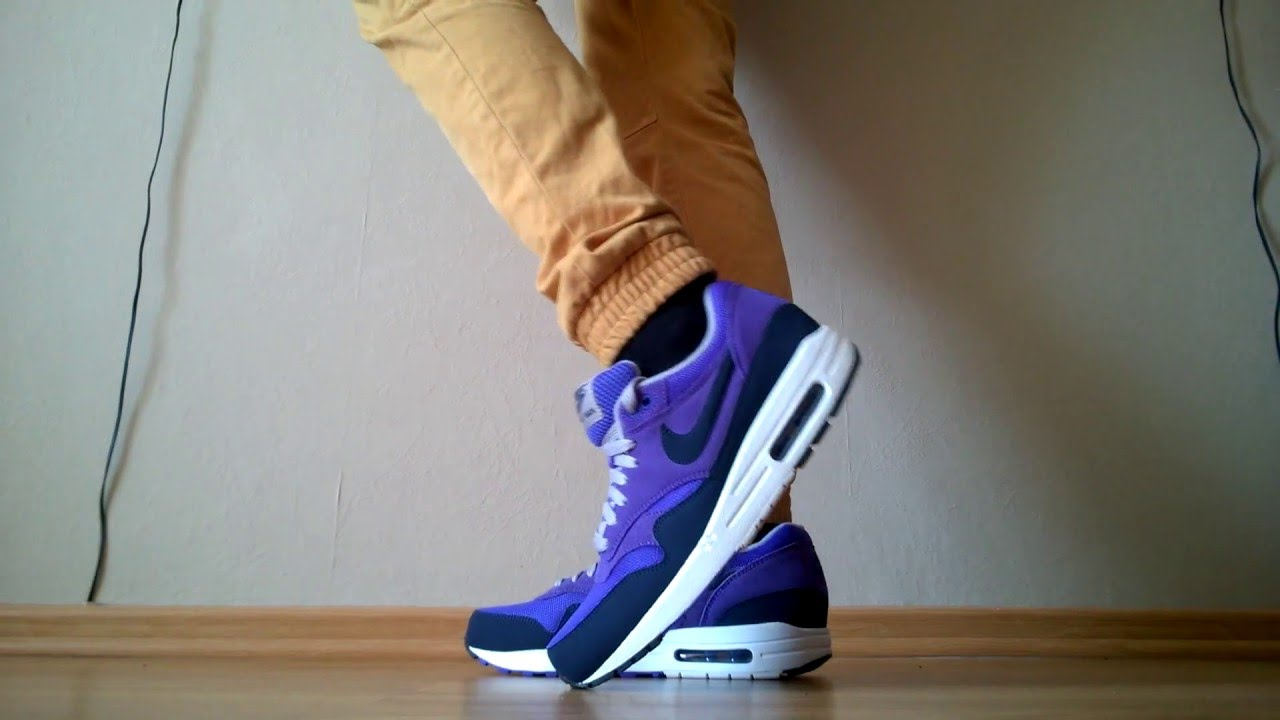 Buty/shoes Nike Air Max 1 Essential 537383-501 na nogach