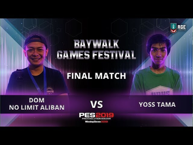 Final Match : Dom No Limit ALIBAN V YOSS Tama
