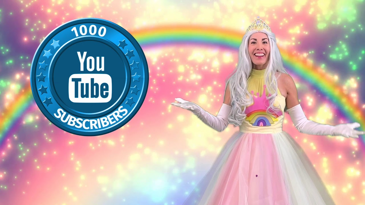 1000 Subscribers Thank You Video For Kids and Toddlers