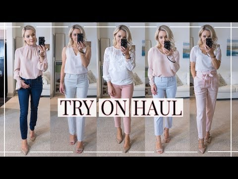BUSINESS CASUAL TRY-ON HAUL + OUTFIT IDEAS | Shannon Sullivan