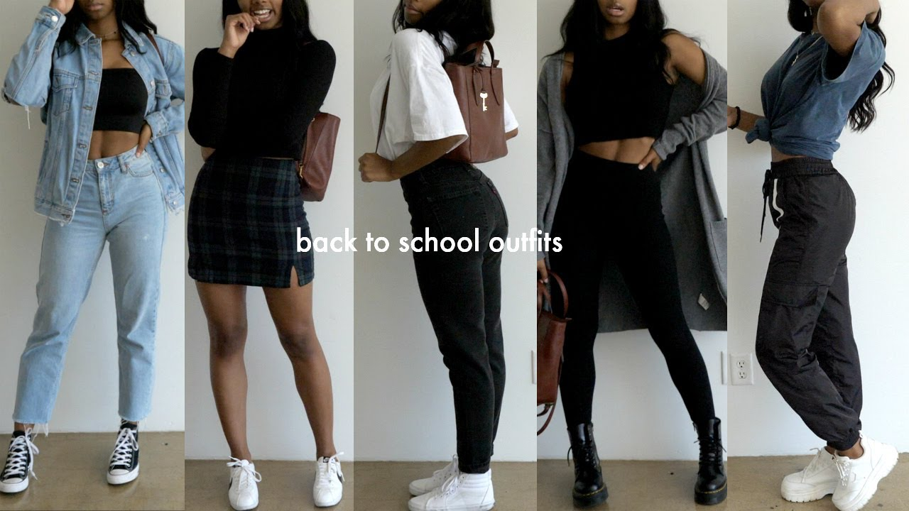 College Fashion Trends 2020.Back To School Outfit Ideas 2019 2020
