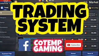 ROHAN MOBILE SEA: GUIDE | TRADING SYSTEM | MARKET | ENGLISH