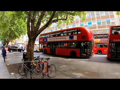 London Walk, OXFORD CIRCUS To BLOOMSBURY — Walking Tour 4K 🇬🇧