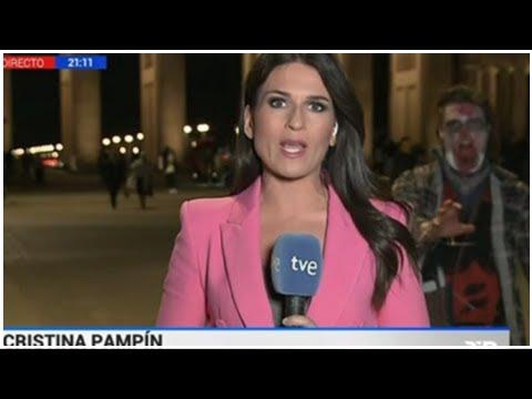 Un zombi se cuela en TVE cuando informaba de Puigdemont