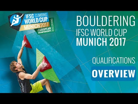 IFSC Climbing World Cup Munich 2017 - Qualifications Overview