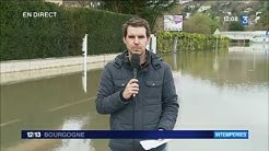 Yonne : les inondations à Joigny