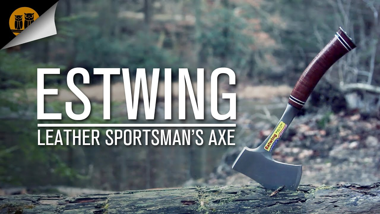 Estwing Leather Sportsman's Axe • Hatchet Field Review