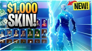 I got the NEW Galaxy Skin for $1,000, this it what it looks like.. (RAREST Skin in Fortnite)