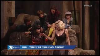 Opéra : «Carmen» sur écran géant à Elancourt