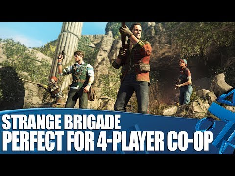 Strange Brigade Gameplay - Why It's Perfect For Four-Player Co-op!