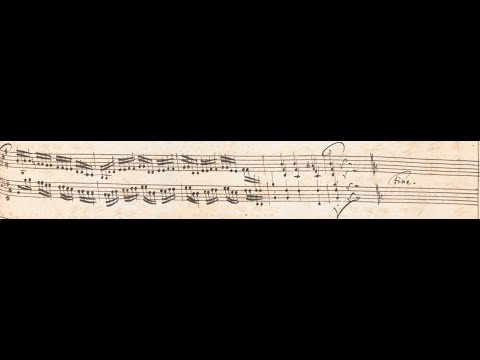 J S Bach: Concerto B Minor BWV 979. Robert Hill, harpsichord. Live