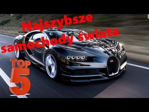 Top 10 Fastest Cars >> Najszybsze samochody świata TOP 5 2016 - YouTube