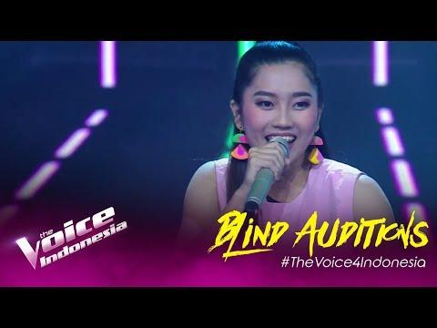 Widya - Semenjak Ada Dirimu   Blind Auditions   The Voice Indonesia GTV 2019