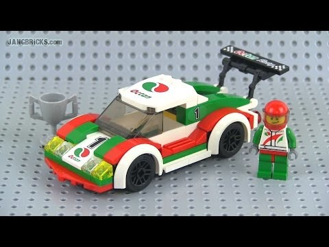 Lego City Race Car Set Review Youtube