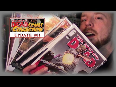 TWD Comic Collection Update #1 With Ronny Haze