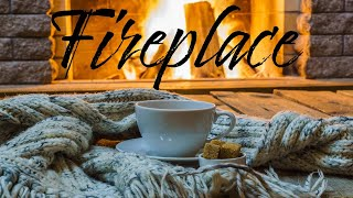 Christmas Fireplace JAZZ - Smooth JAZZ & Bossa Nova - Chill Out Music