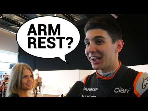 Which Force India Driver Would Win In An Arm Wrestle?