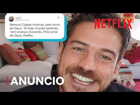 Marco Pigossi confirma a segunda temporada de Cidade Invisível | Netflix Brasil