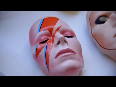 David Bowie's masks - Artsnight: Preview - BBC Two