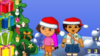 Dora And Diego Christmas Gifts Level 1-8 Walkthrough