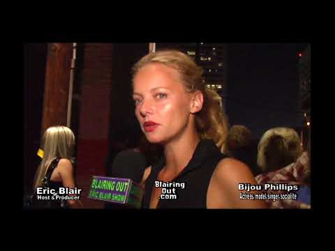 "Bijou Phillips & Eric Blair talk ""What We Do Is Secret"" 2007"