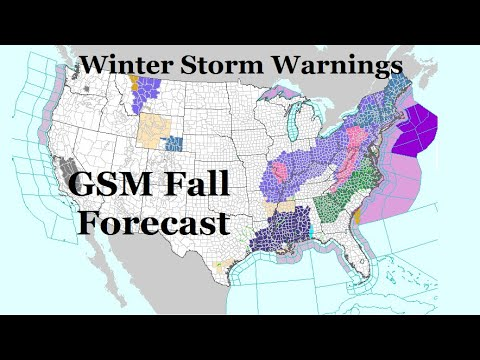 GSM Update 11/15/18 - Winter Storm Warning 5 weeks from Winter - California Fire FACTS - (SCUPLS)