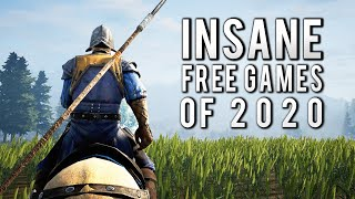 Top 10 BEST FREE PC Games You Probably Didn't Know In 2020
