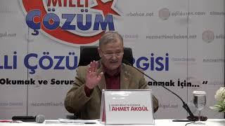 Milli Çözüm Dergisi - Konya Seminer Programı Açılış Konuşması - Arş. Yzr. Ahmet Akgül