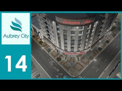 [Ep.14] Cities Skylines - Aubrey City : Pot Holes & Parking Lots!