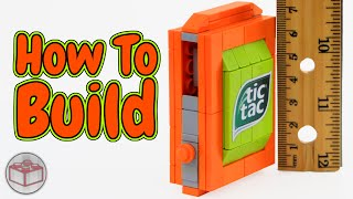 How to Build The World's Smallest LEGO Candy Machine